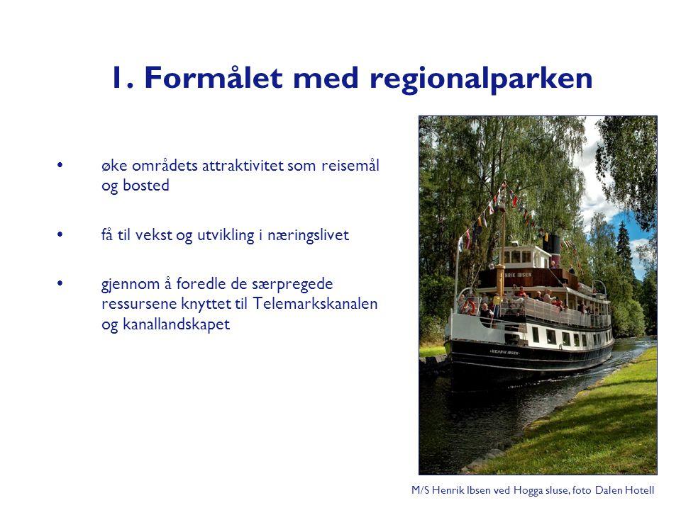 1. Formålet med regionalparken