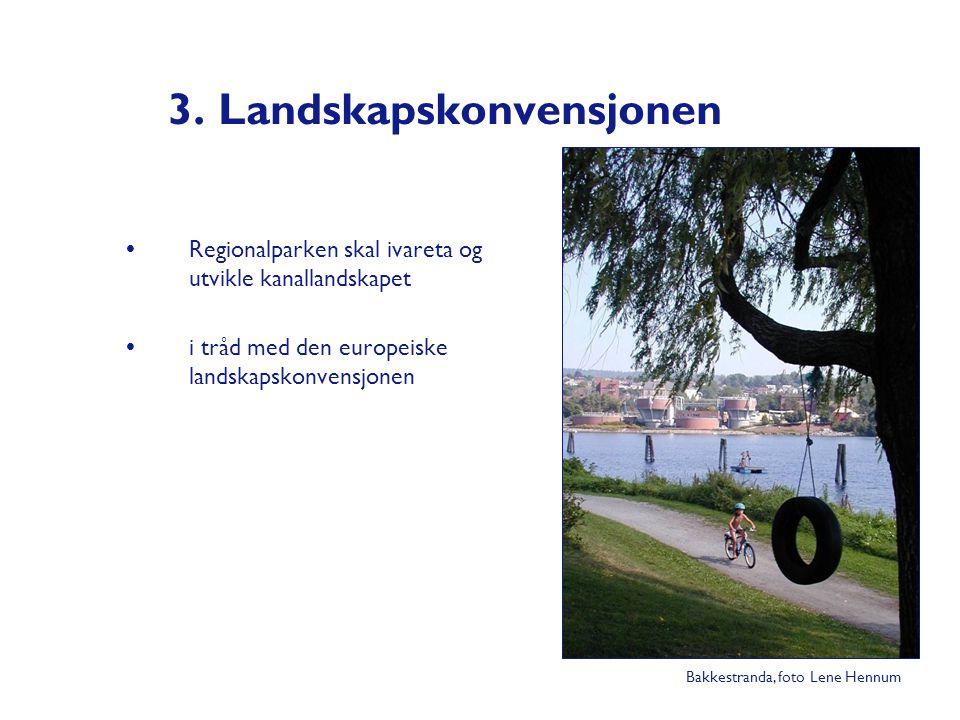 3. Landskapskonvensjonen