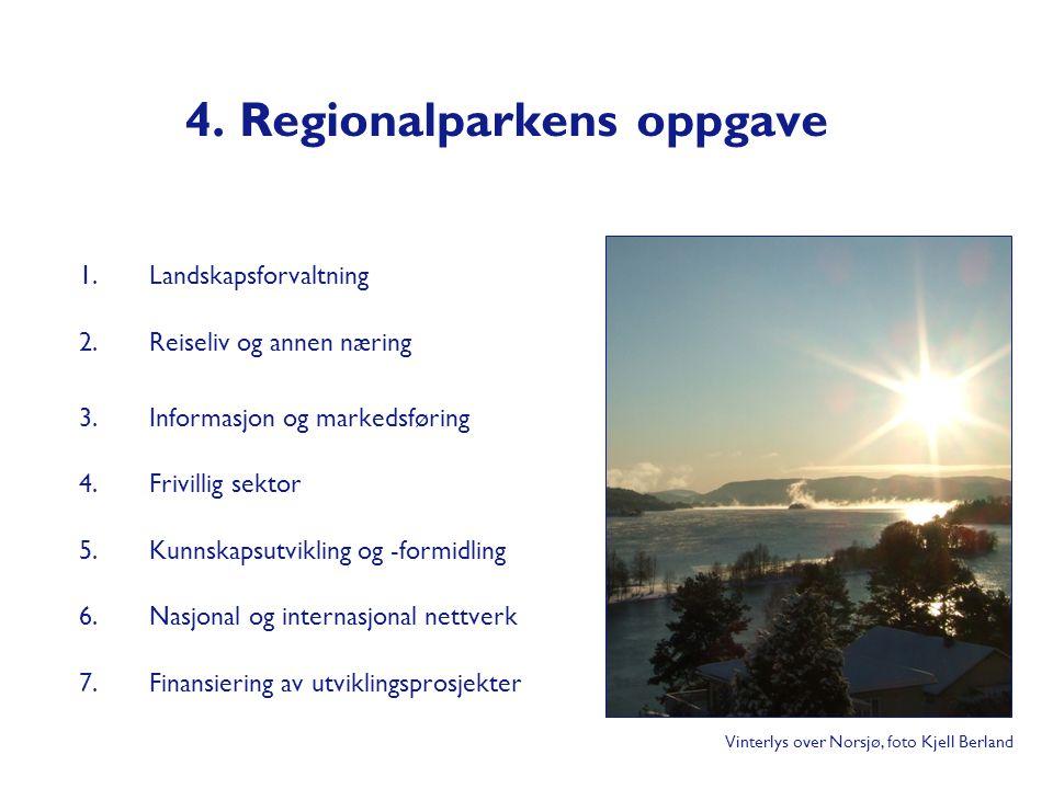 4. Regionalparkens oppgave