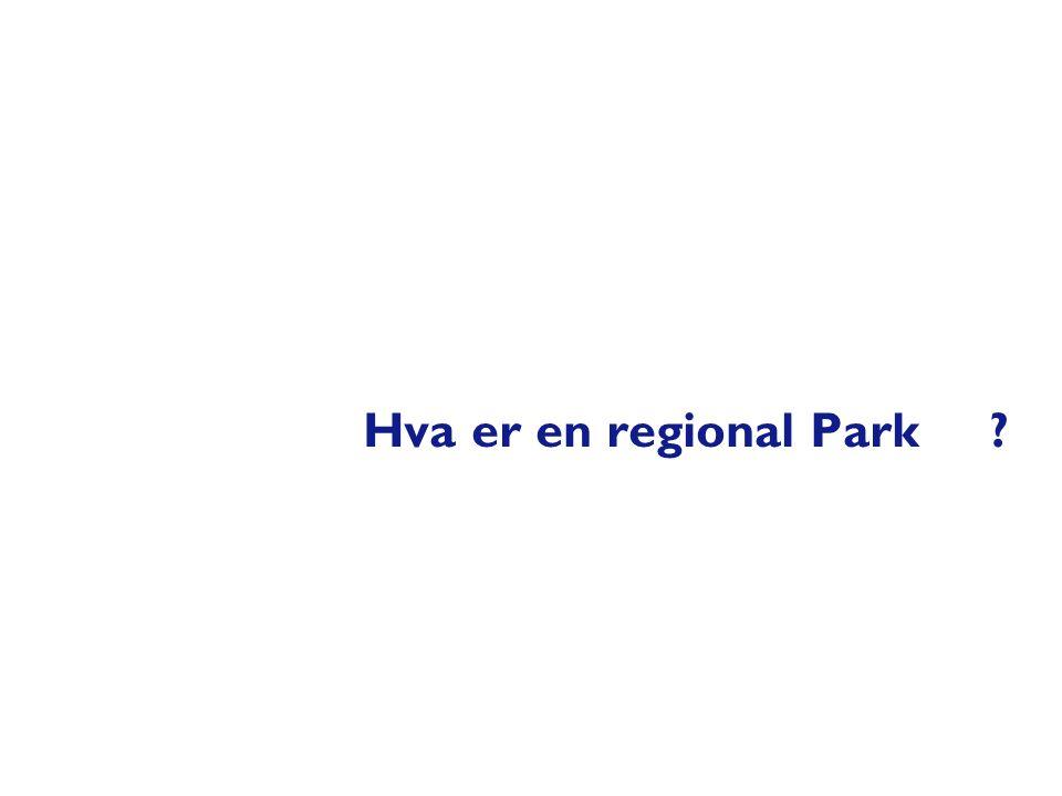 Hva er en regional Park