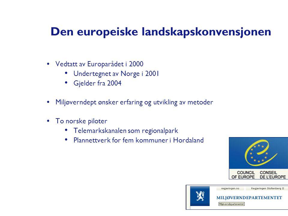 Den europeiske landskapskonvensjonen