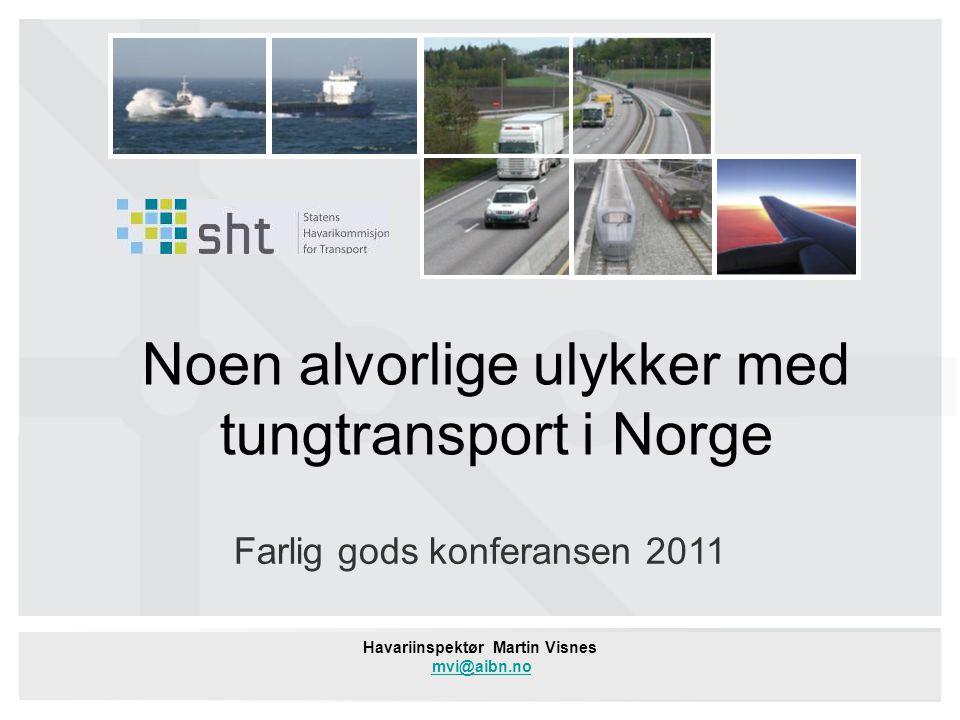 Havariinspektør Martin Visnes