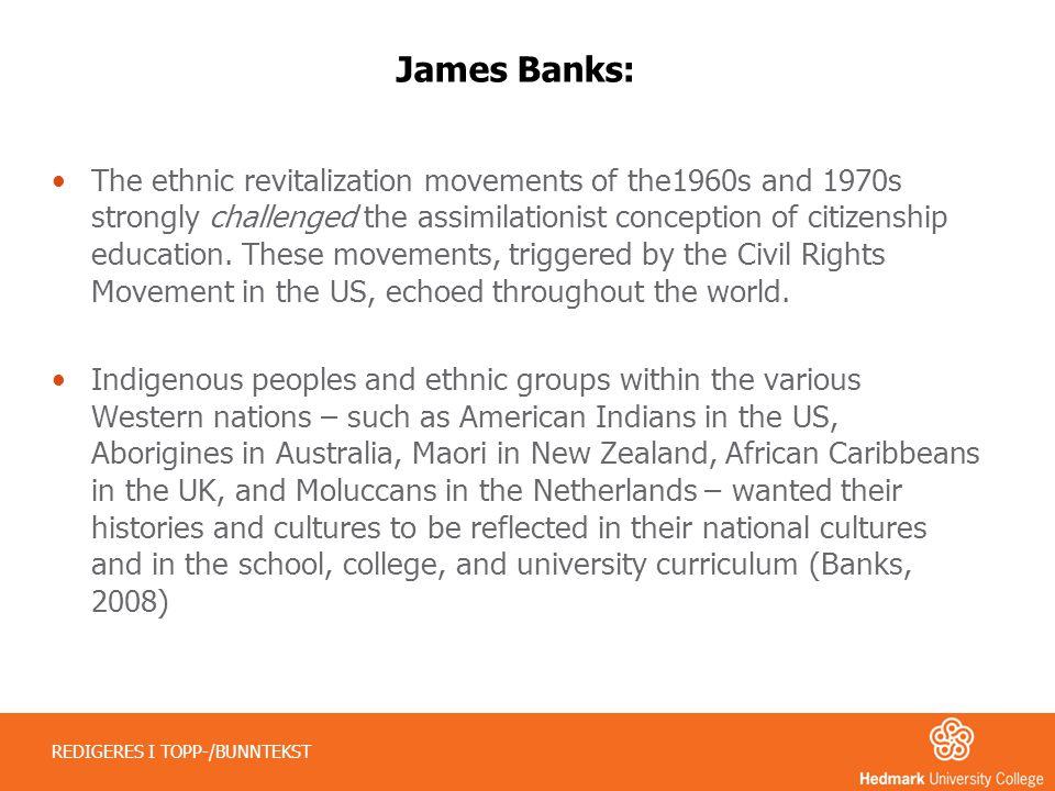 James Banks: