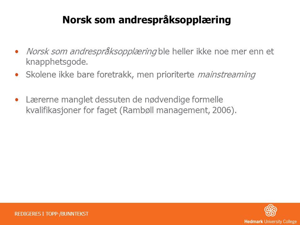 Norsk som andrespråksopplæring