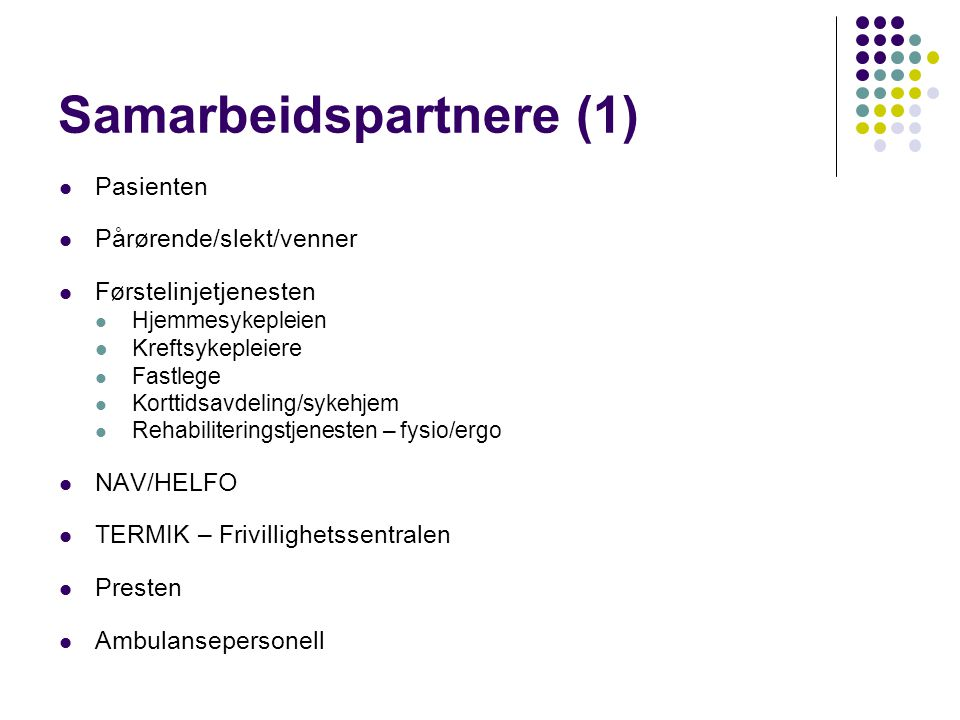 Samarbeidspartnere (1)