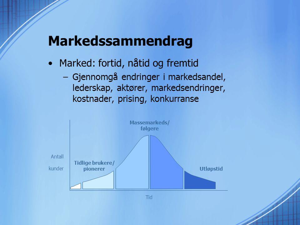 Massemarkeds/ følgere