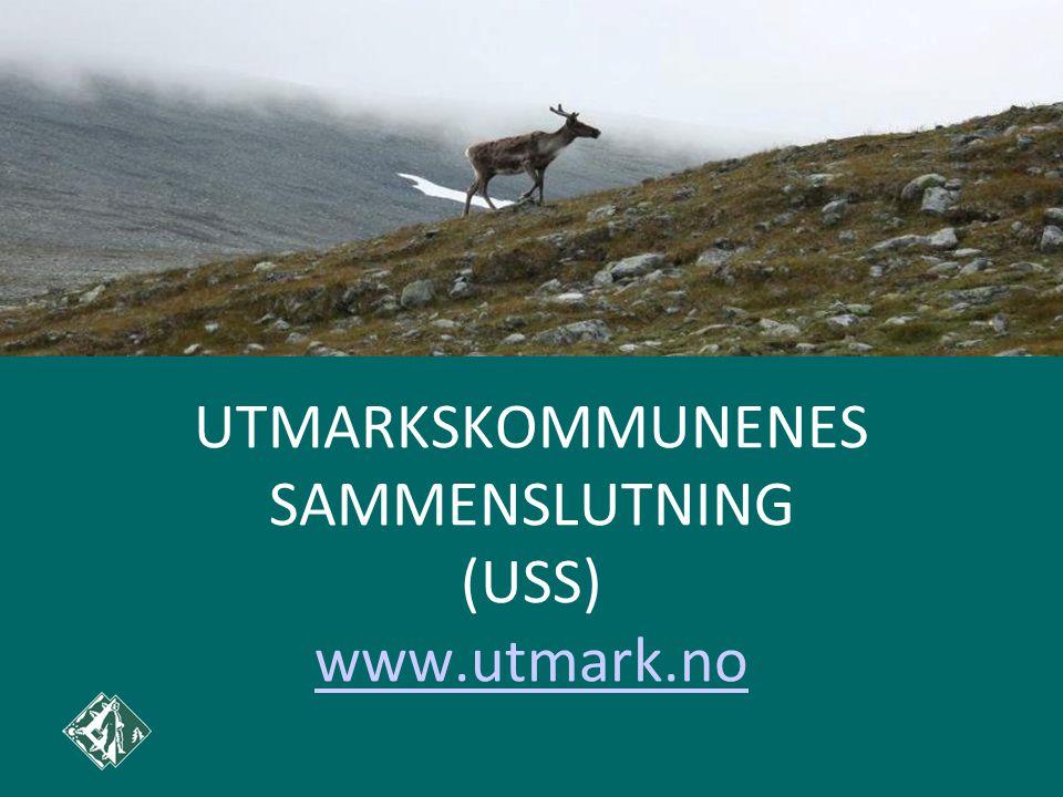 UTMARKSKOMMUNENES SAMMENSLUTNING (USS) www.utmark.no