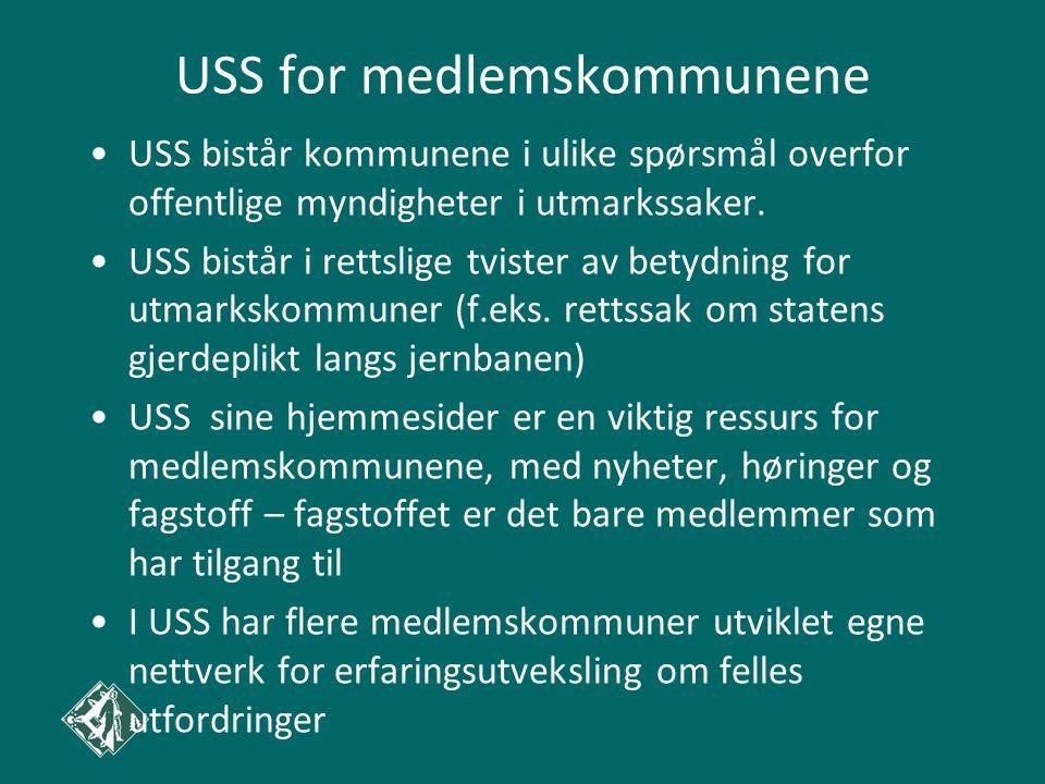 USS for medlemskommunene