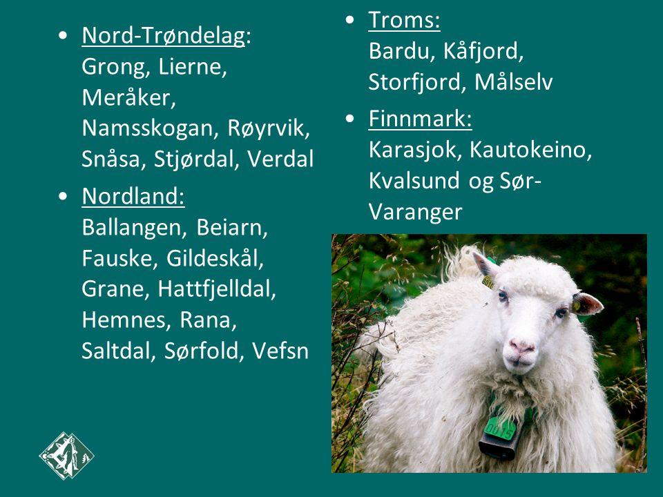 Troms: Bardu, Kåfjord, Storfjord, Målselv