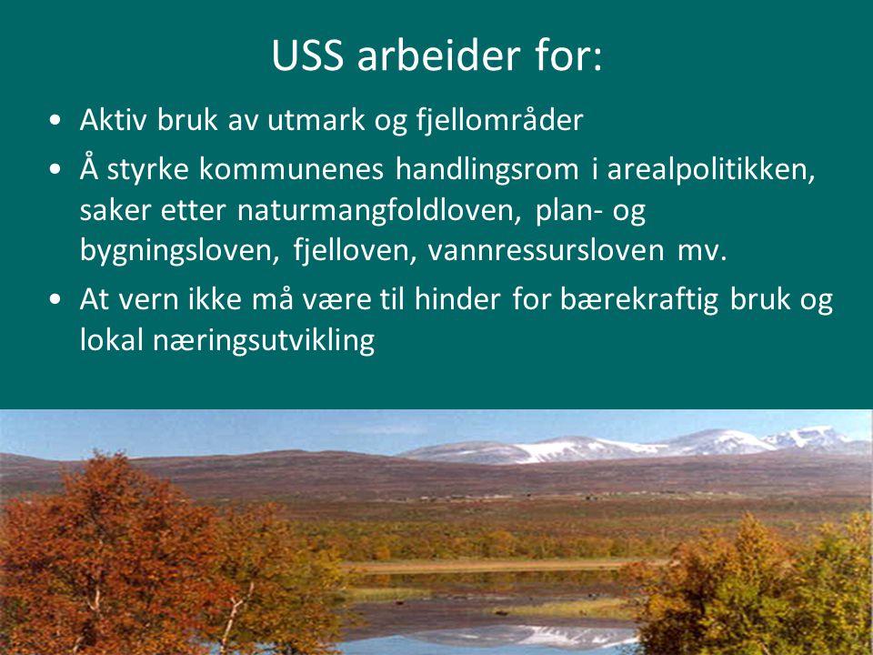 USS arbeider for: Aktiv bruk av utmark og fjellområder