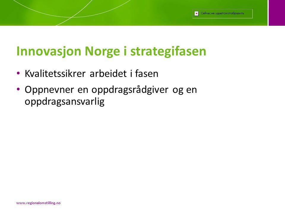 Innovasjon Norge i strategifasen