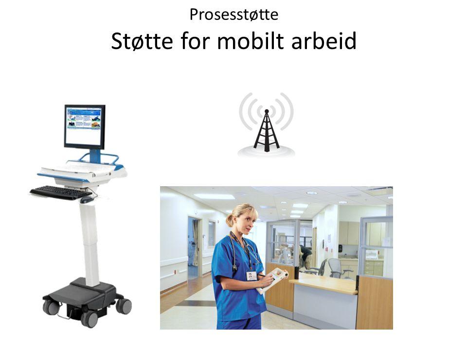 Prosesstøtte Støtte for mobilt arbeid