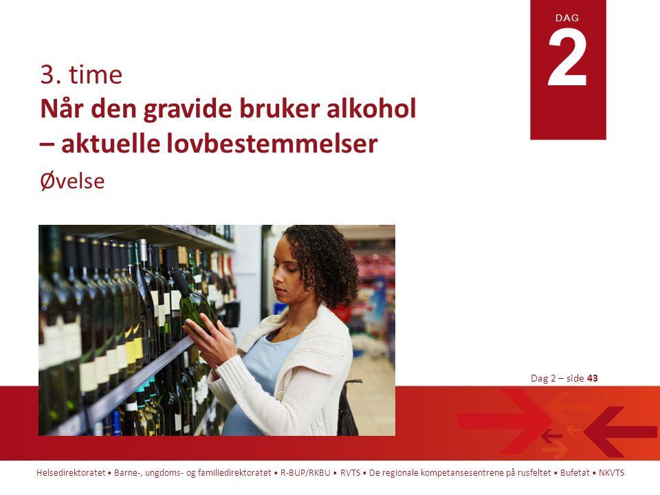 Når den gravide bruker alkohol – aktuelle lovbestemmelser