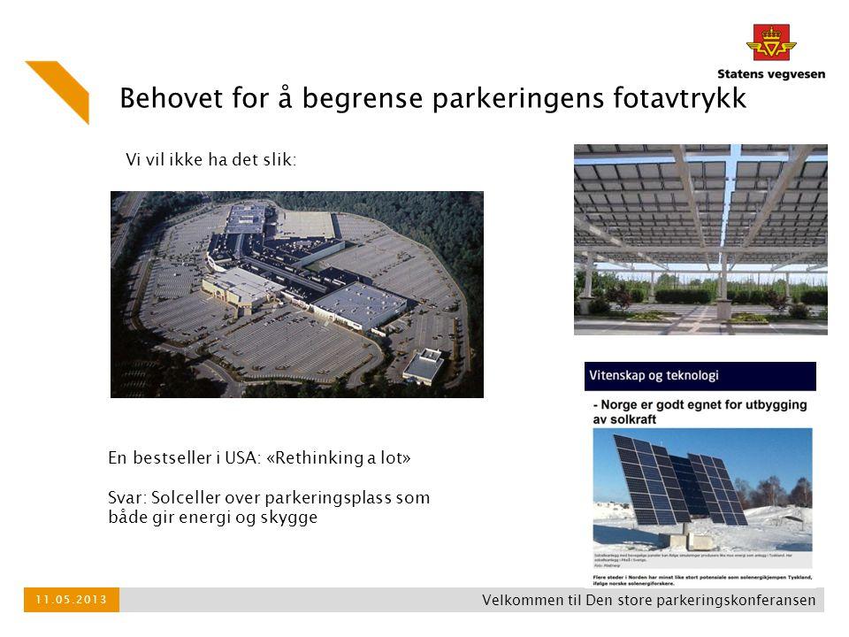Behovet for å begrense parkeringens fotavtrykk