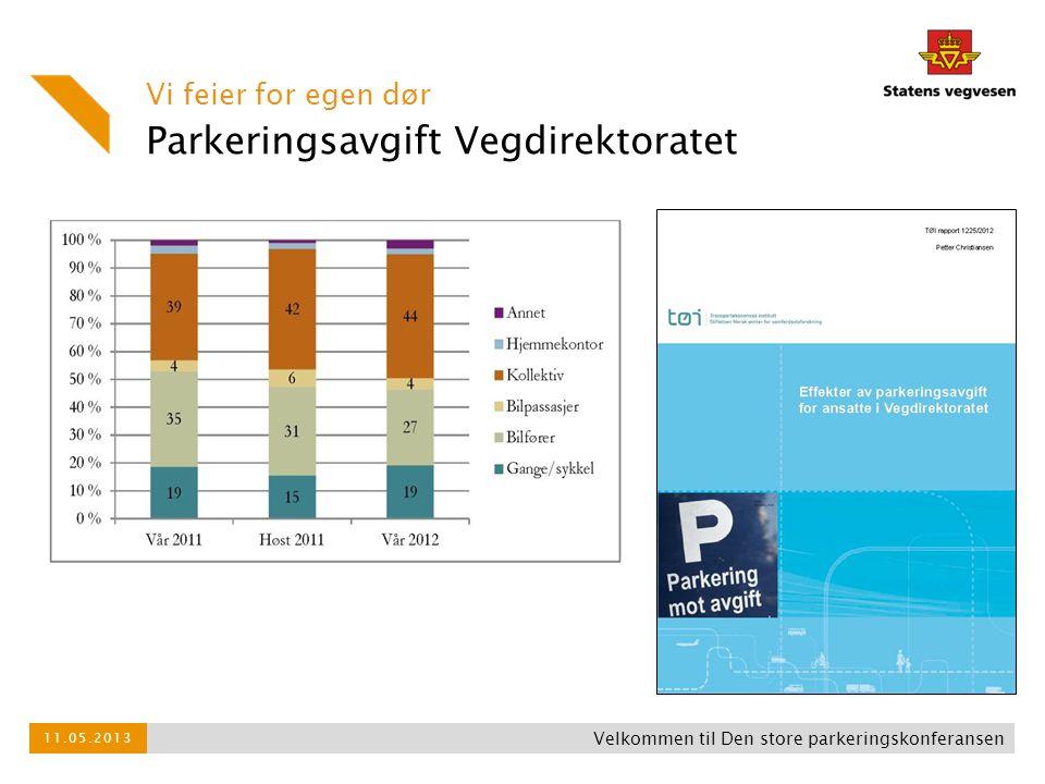 Parkeringsavgift Vegdirektoratet