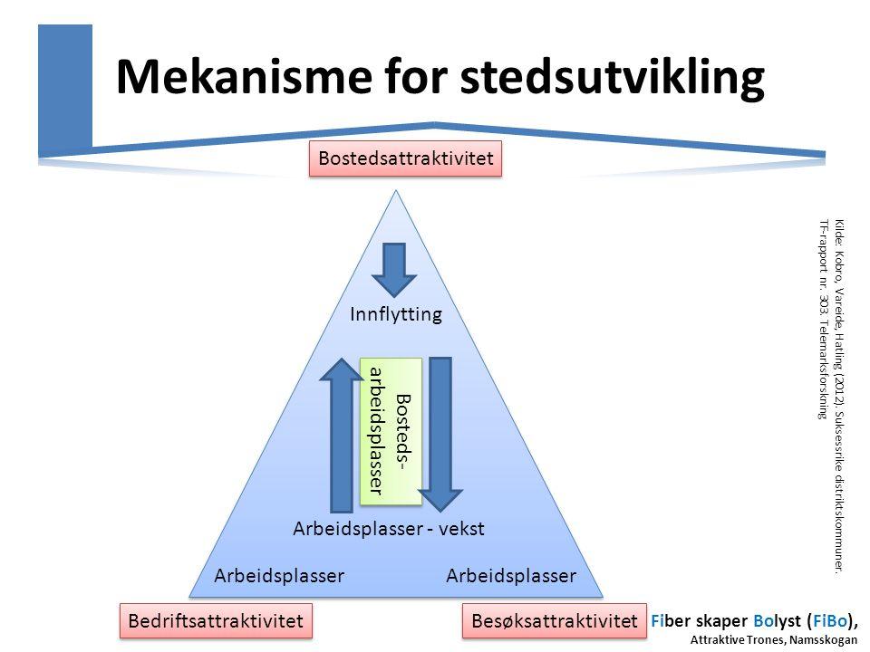 Mekanisme for stedsutvikling