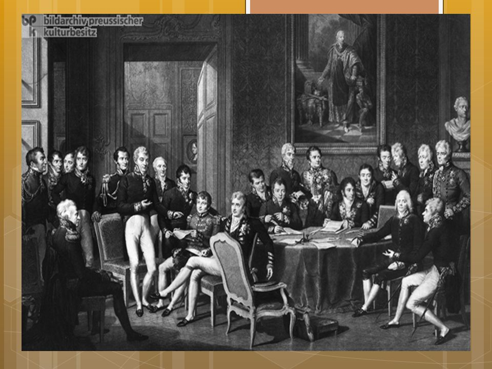 Wienkongressen I 1814-1815: Wienkongressen: Internasjonal fredsavtale
