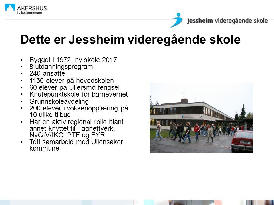 Dette er Jessheim videregående skole
