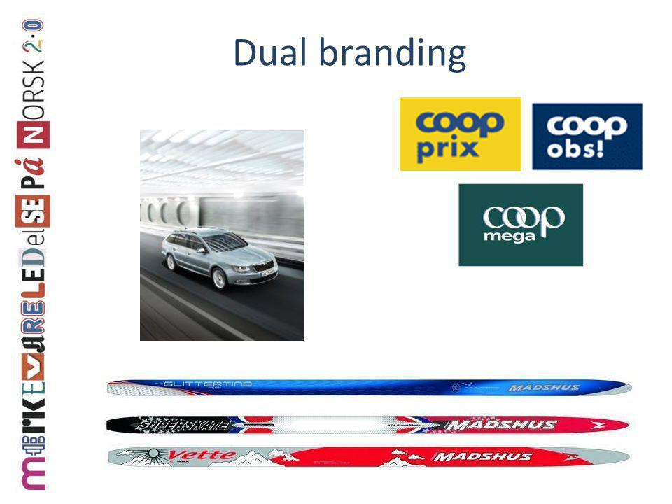 Dual branding
