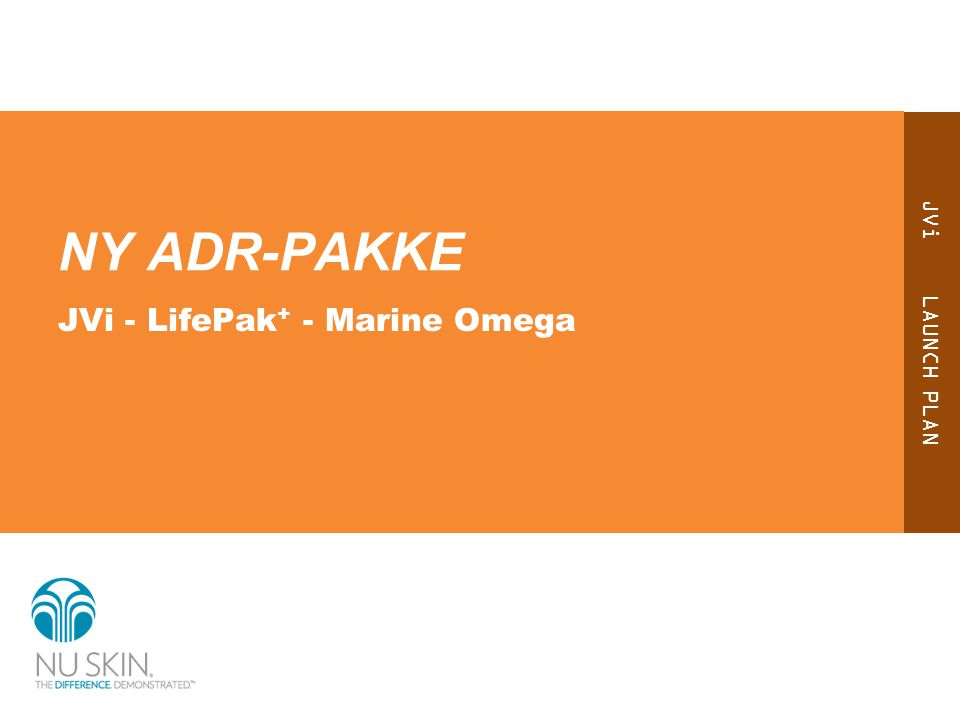 NY ADR-PAKKE JVi - LifePak+ - Marine Omega