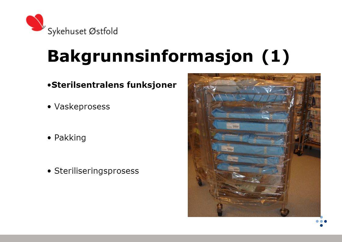 Bakgrunnsinformasjon (1)