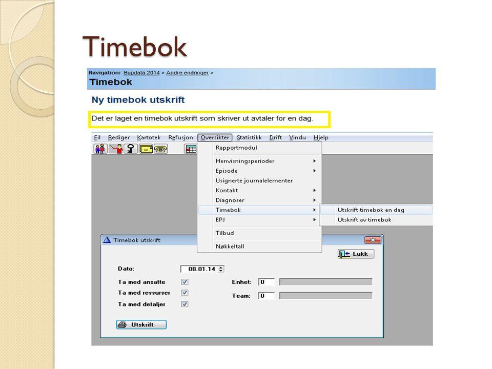 Timebok