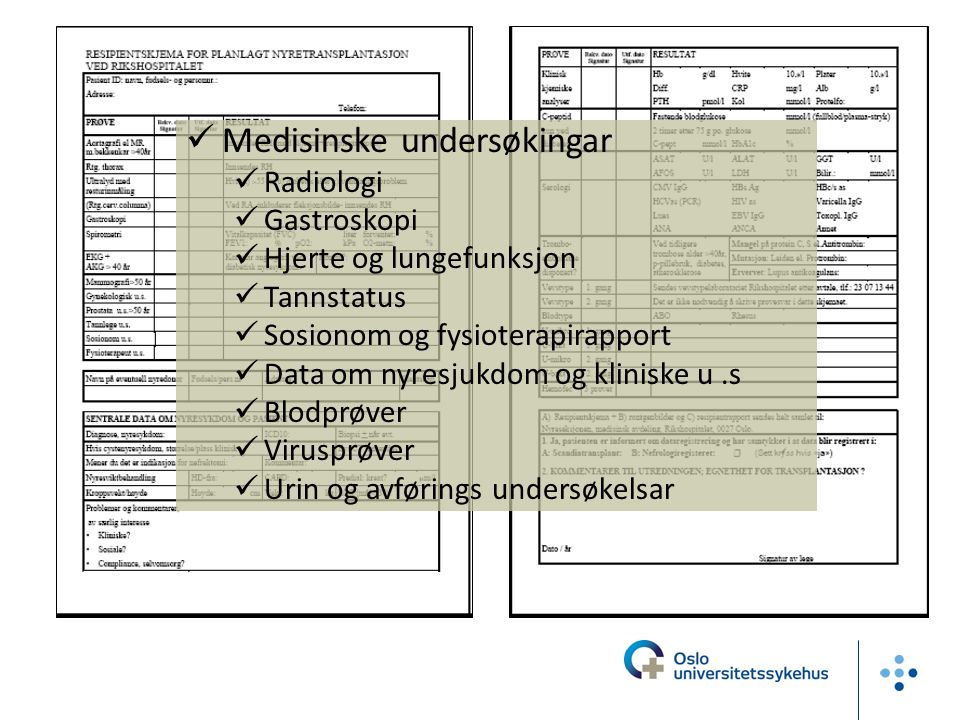Medisinske undersøkingar