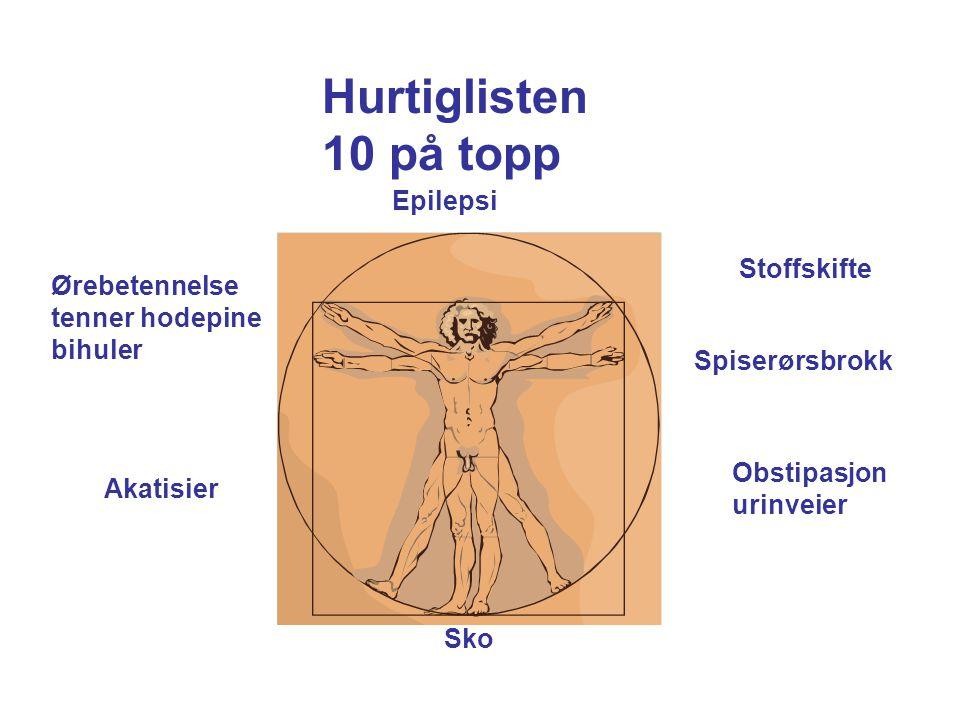 Hurtiglisten 10 på topp Epilepsi Stoffskifte