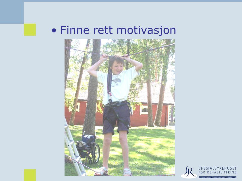Finne rett motivasjon