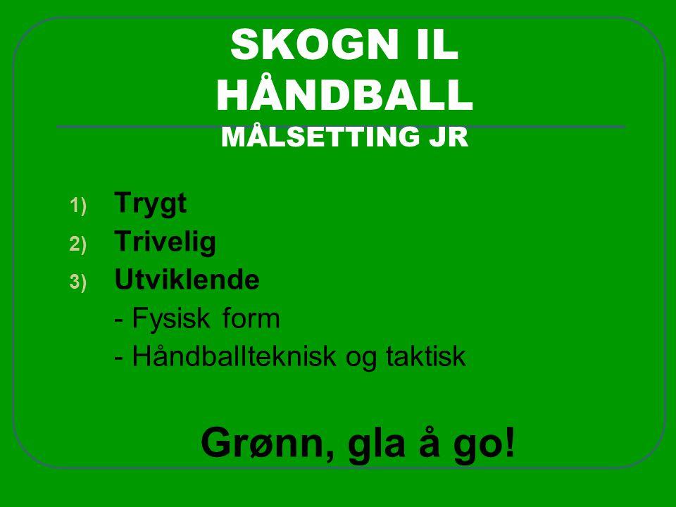 SKOGN IL HÅNDBALL MÅLSETTING JR