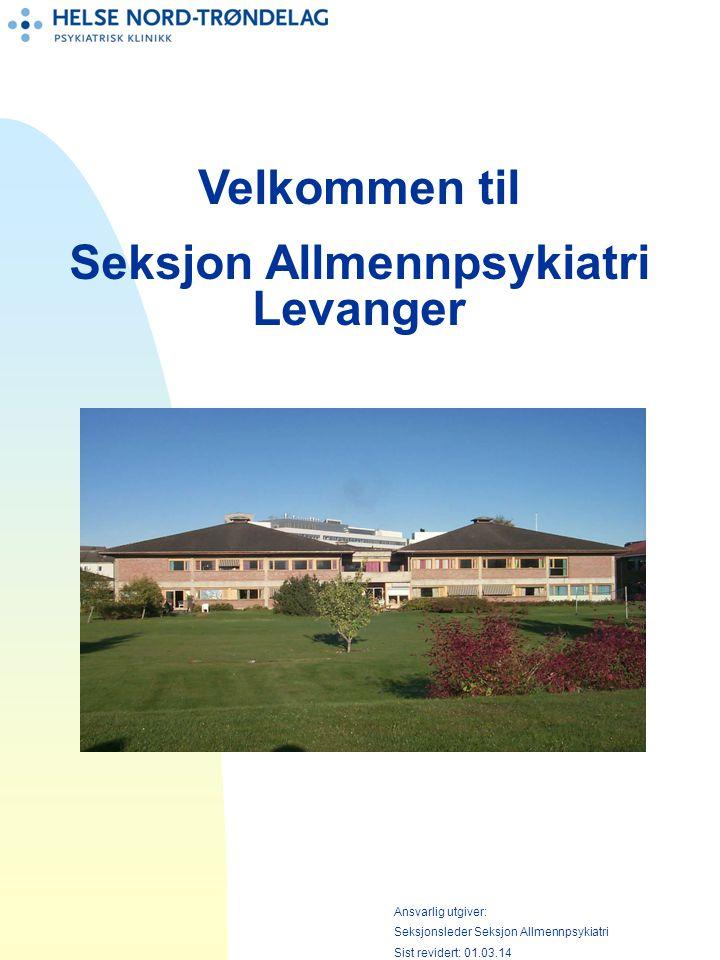Seksjon Allmennpsykiatri Levanger