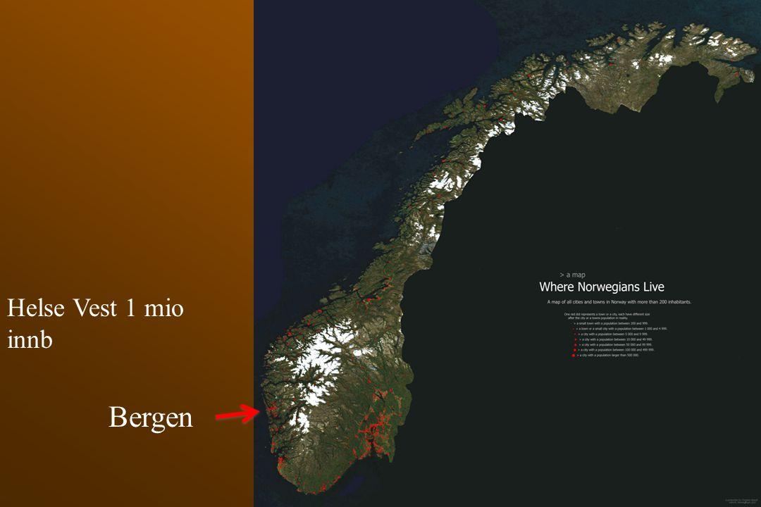 Helse Vest 1 mio innb Bergen