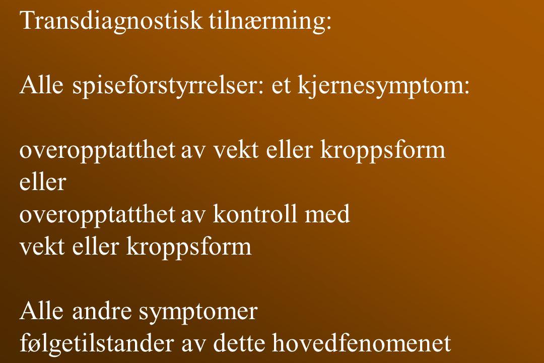 Transdiagnostisk tilnærming: