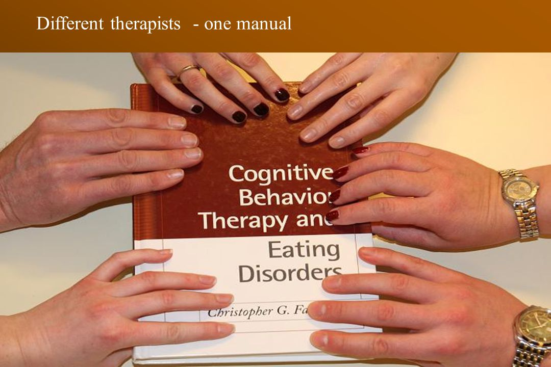 Different therapists - one manual
