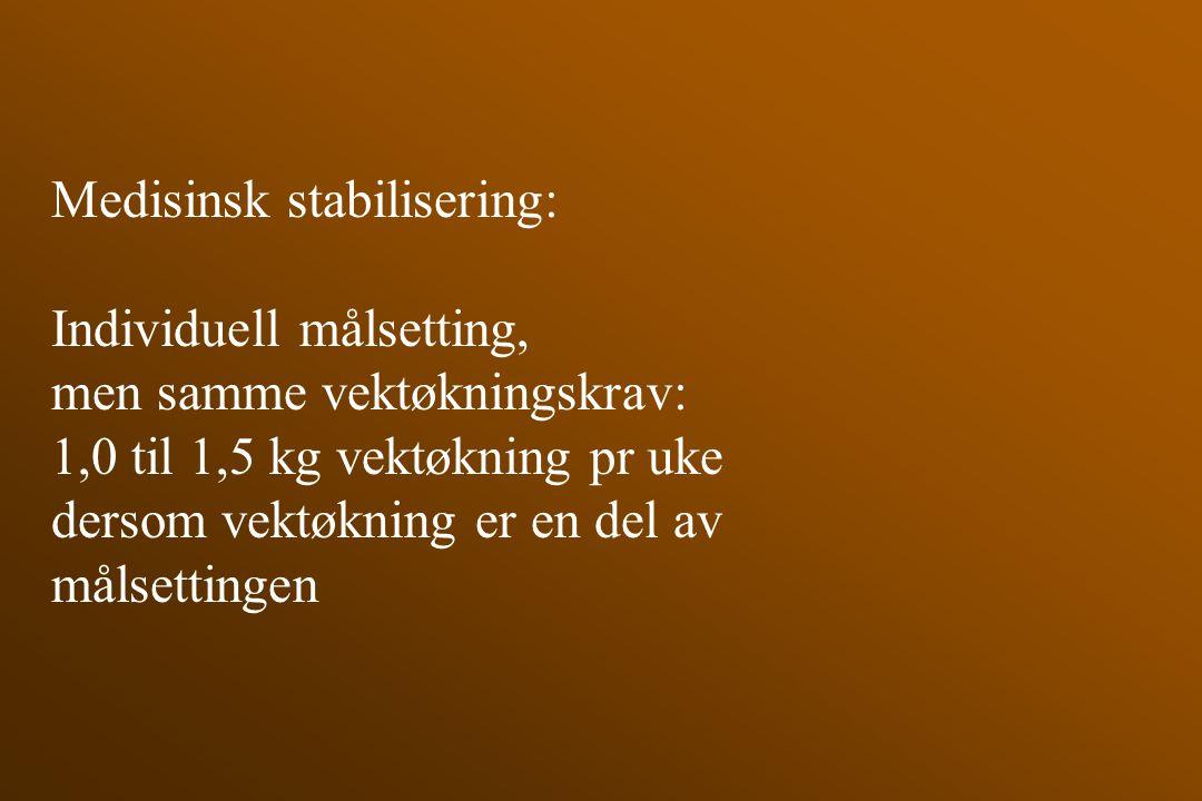 Medisinsk stabilisering:
