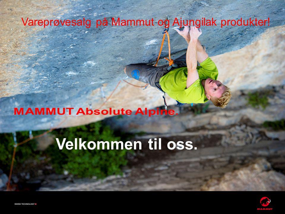 Vareprøvesalg på Mammut og Ajungilak produkter!