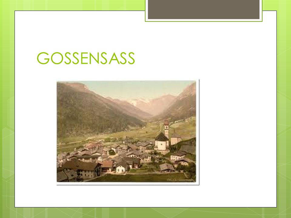 GOSSENSASS