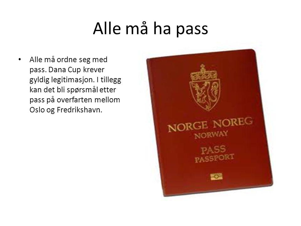 Alle må ha pass