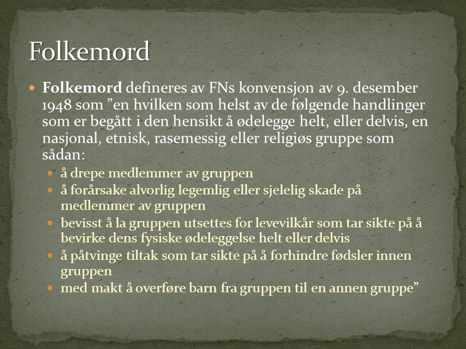 Folkemord
