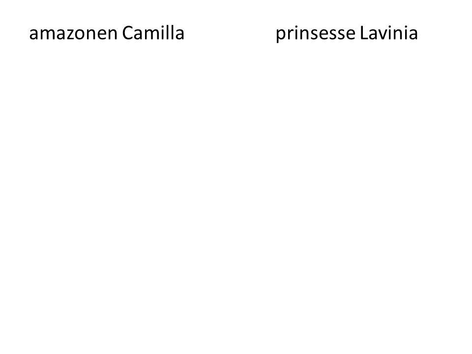 amazonen Camilla prinsesse Lavinia