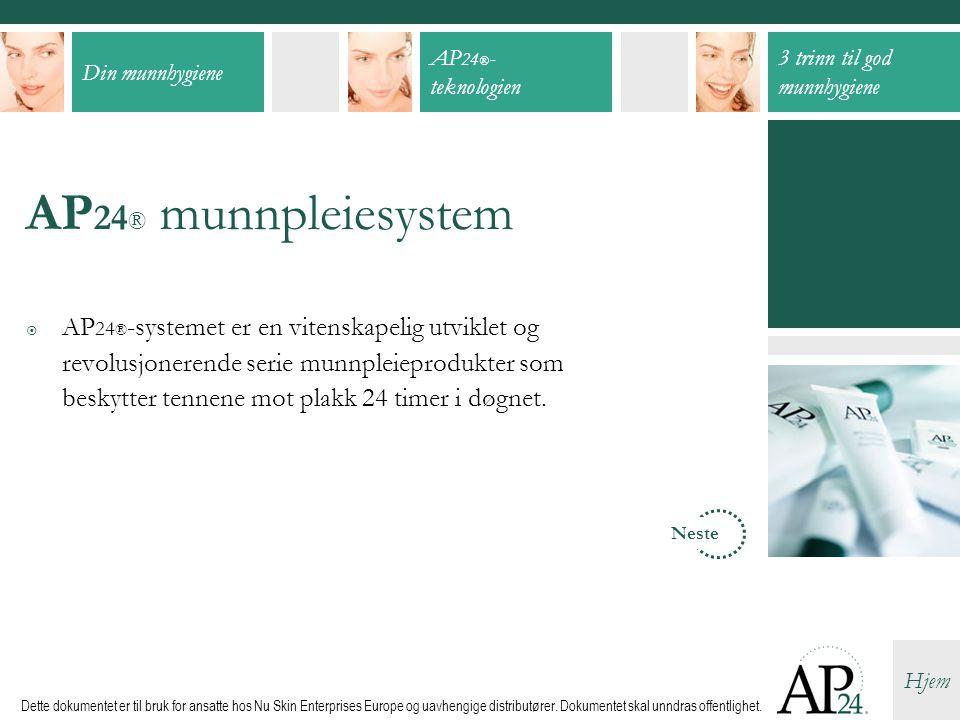 AP24® munnpleiesystem