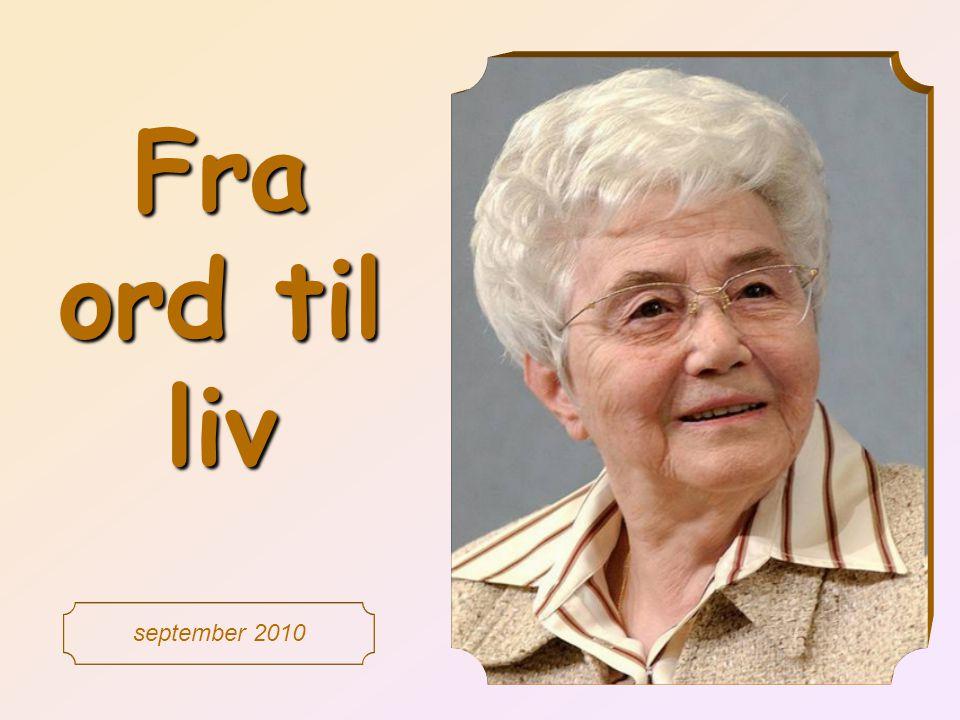 Fra ord til liv september 2010