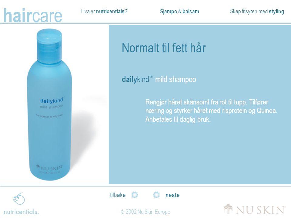 Normalt til fett hår dailykind™ mild shampoo