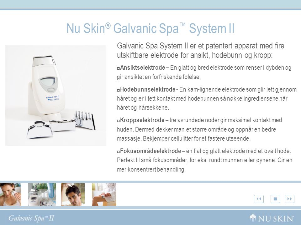 Nu Skin® Galvanic Spa™ System II