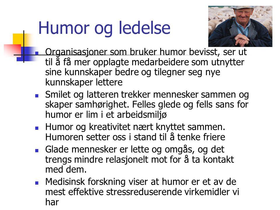 Humor og ledelse