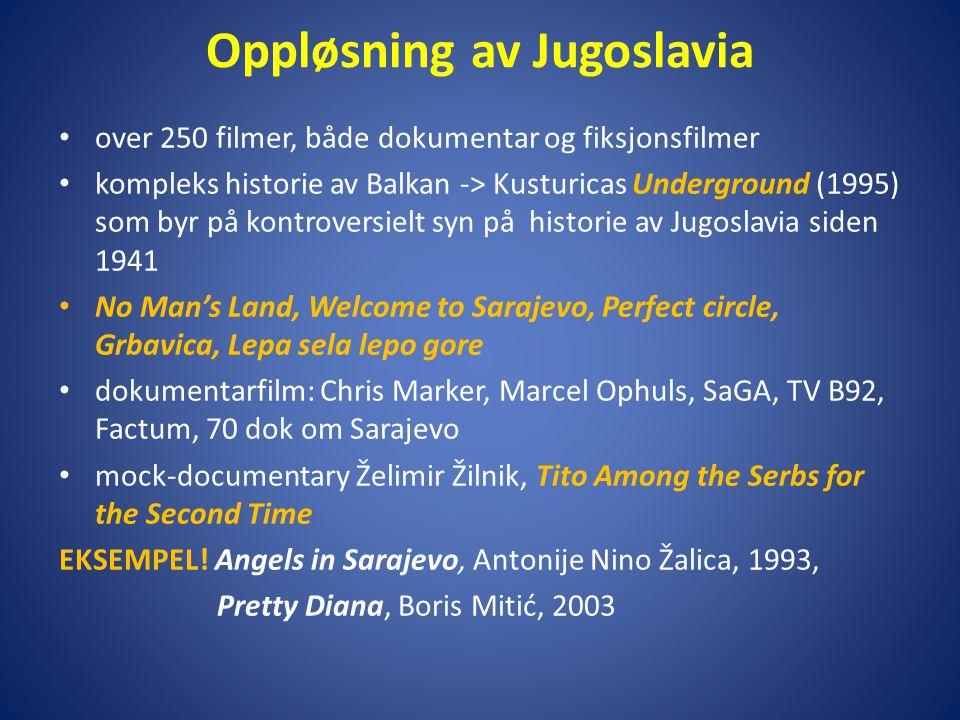 Oppløsning av Jugoslavia