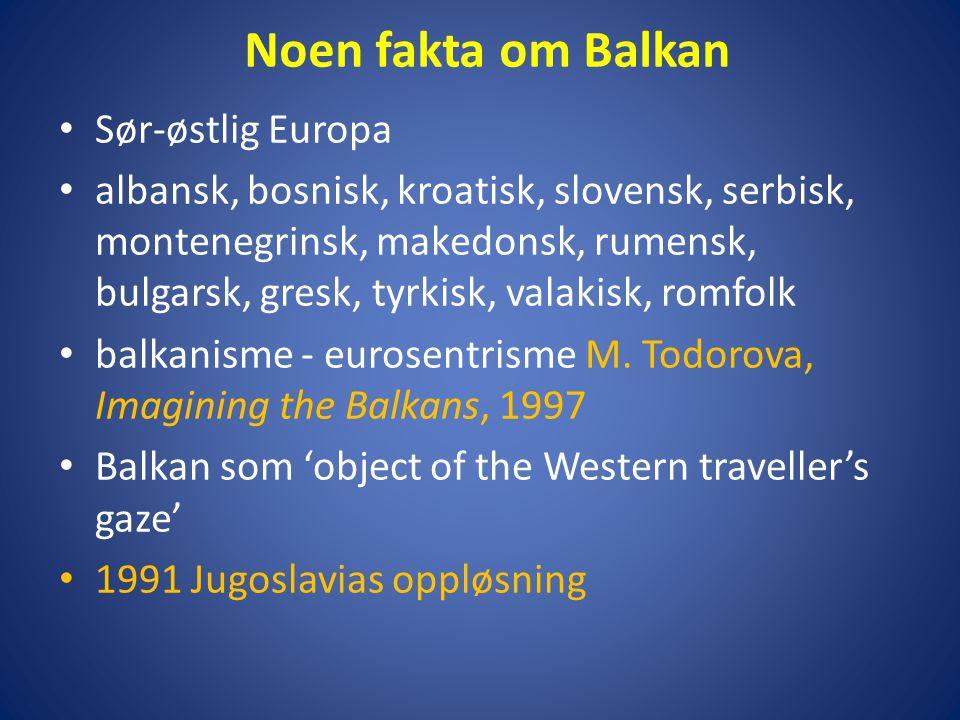 Noen fakta om Balkan Sør-østlig Europa