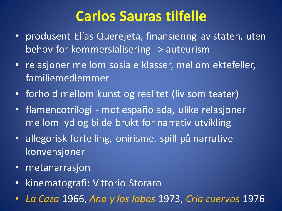 Carlos Sauras tilfelle