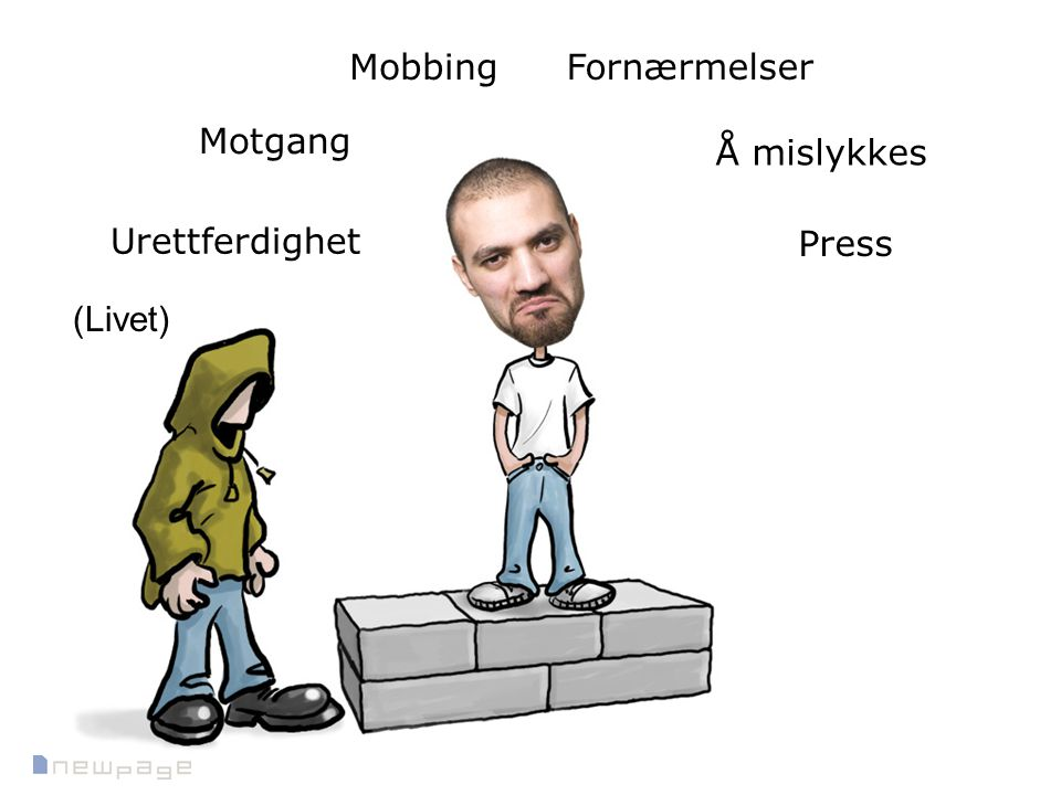 Mobbing Fornærmelser Motgang Å mislykkes Urettferdighet Press (Livet)