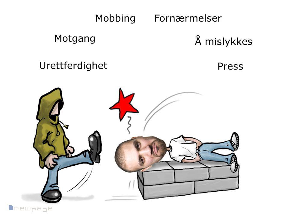 Mobbing Fornærmelser Motgang Å mislykkes Urettferdighet Press